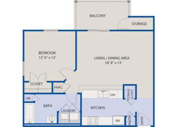 1 Bedroom Phase I