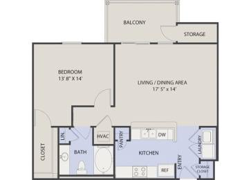 1 Bedroom- Phase II