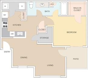 Map 1 at The Retreat Apartments