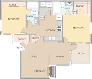 Map 2 at The Retreat Apartments