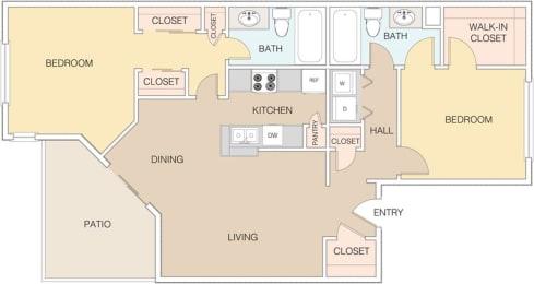 Map 3 at The Retreat Apartments