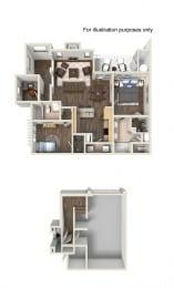 Floor Plan Residence Three