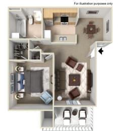 1x1 Floorplan