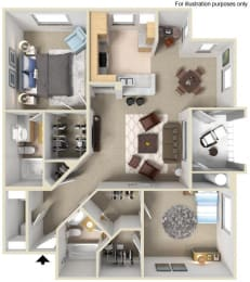 CORONADO Floor plan, at Terra Vista, Chula Vista, California