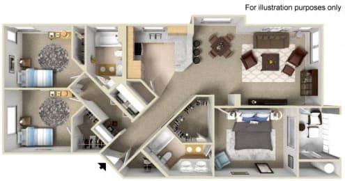EL DORADO Floor plan, at Terra Vista, 1441 Santa Lucia Rd, CA