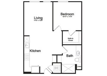 B2-1 Floorplan