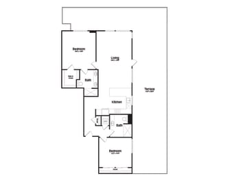 PH1 Floorplan