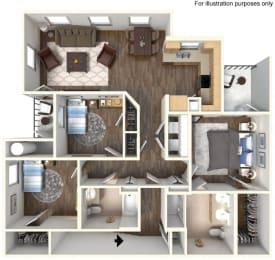 C1U Floorplan