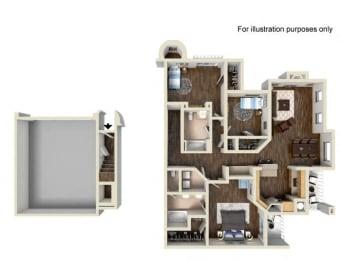 Floor Plan Residence Four Upper