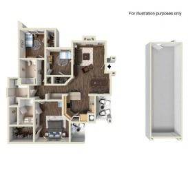 Floor Plan Residence Four Lower