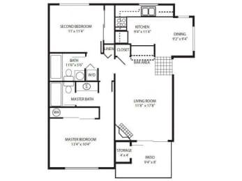 HV_2 Bedroom Flat/Up