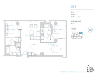 Floor Plan Unit F