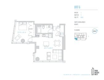 Floor Plan Unit G