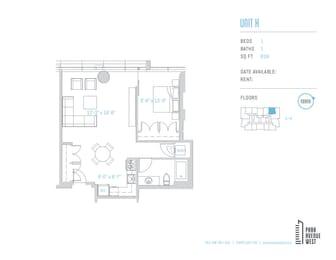 Floor Plan Unit K