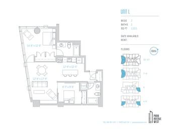 Floor Plan Unit L