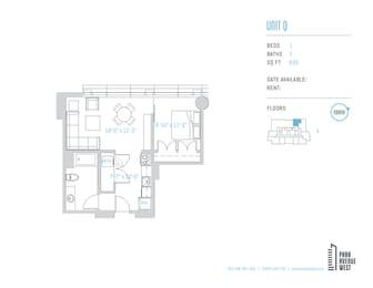 Floor Plan Unit Q