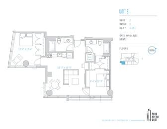 Floor Plan Unit S