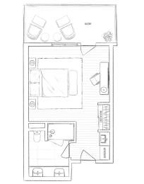 Floor Plan POOL SUITE