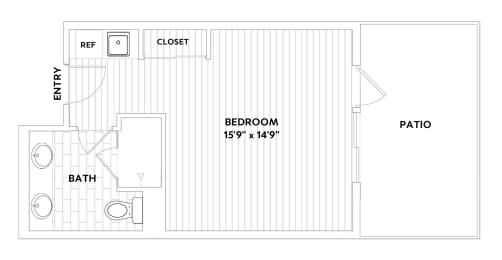 hotel floorplan image 2d