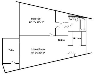 1 Bedroom Hershey Apartments | Braircrest Gardens Apartments