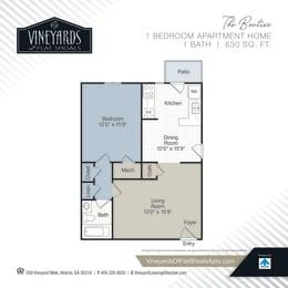 Floor Plan The Boutier