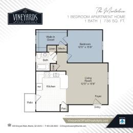 Floor Plan The Montaluce