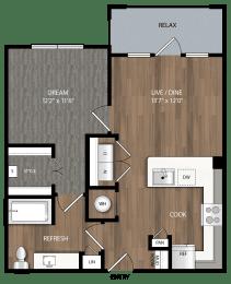 a2 floor plan in midland tx apartments