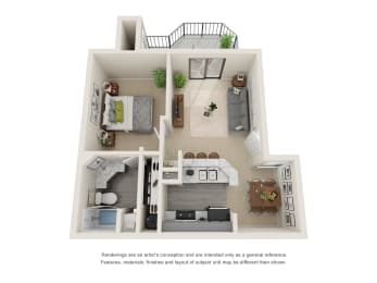 Floor Plan A - Renovated