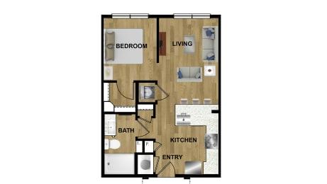 S1a Floor Plan at Brixton South Shore, Texas