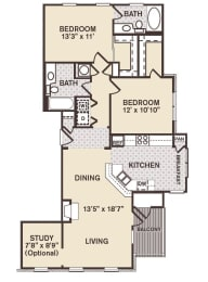 Georgetown Floor Plan at Providence at Old Meridian, Indiana