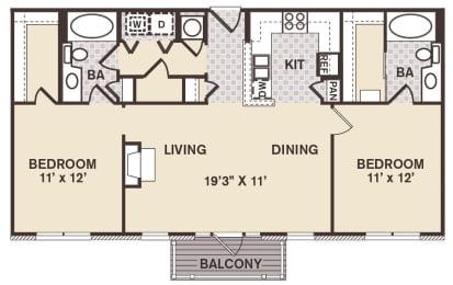 Society Hill Floor Plan at Providence at Old Meridian, Carmel