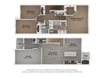 Floor Plan Drayton