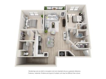 Floor Plan B1-C