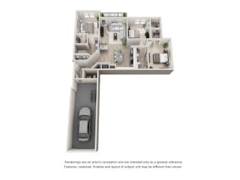 Floor Plan C1 - A