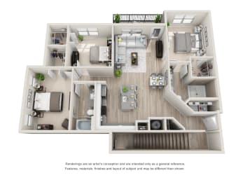 Floor Plan C1-B