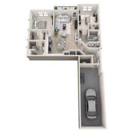 Floor Plan B1-A