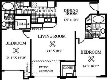 Floor Plan The Dahlia