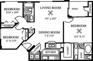 Floor Plan The Fern