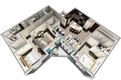 Floor Plan Juno 3B3B