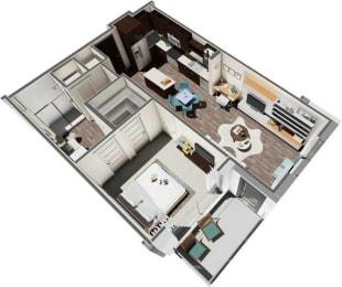 Floor Plan Vulcan 1B1B
