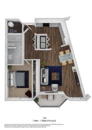 Helix CR floor plan