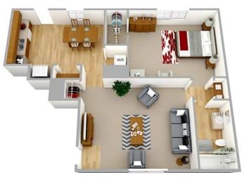 Floor Plan The Clairmont