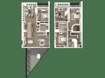Floor Plan Hampton - Penthouse