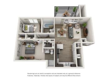 Floor Plan Pebblestone