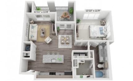Floor Plan A4