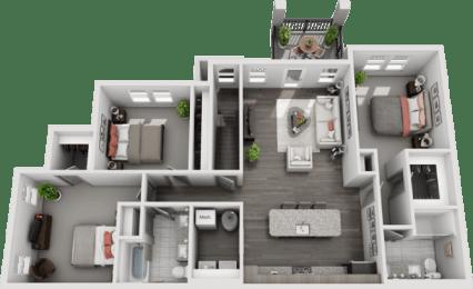 Floor Plan C1-2