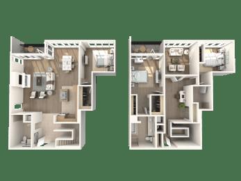 Floor Plan Rockefeller - Penthouse