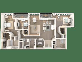 Floor Plan SoHo - Penthouse