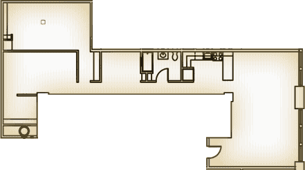 b - floor plan layout