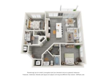 Floor Plan 2E